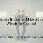 Business Broker or Merger and Acquisition Advisor