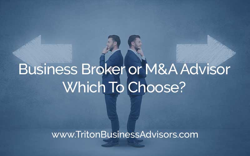 Business Broker or M&A Advisor