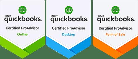 QuickBooks ProAdvisor Badges