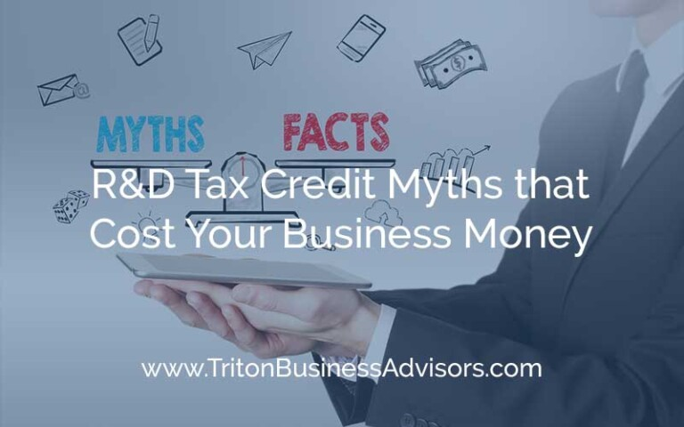 R&D Tax Credit Myths that Cost Your Business Money