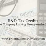 R&D Tax Credits